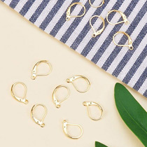 ARRICRAFT 1000pcs Stainless Steel Earring Hooks with Hole Ear Wires Jewelry Connector for Earring Designs Jewelry Making