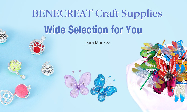 Benecreat Craft Supplies Wide Selection for You