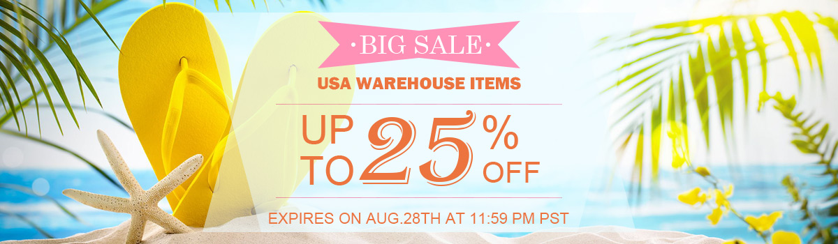 USA WAREHOUSE ITEMS BIG SALE UP TO 25% OFF