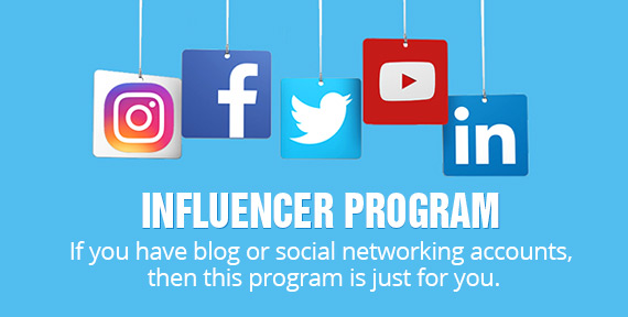 INFLUENCER PROGRAM