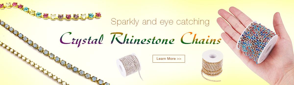 Crystal Rhinestone Chains