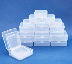 Clear Bead Storage Containers