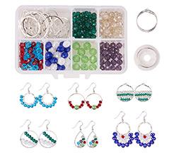Hoop Earrings Making Kit