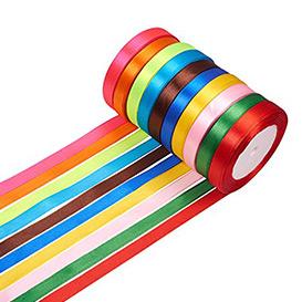 10 Colors Satin Ribbon