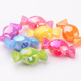 Candy Acrylic Beads