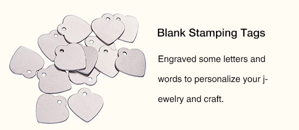 BLANK STAMPING TAGS