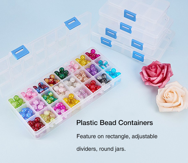 Plastic Bead Containers