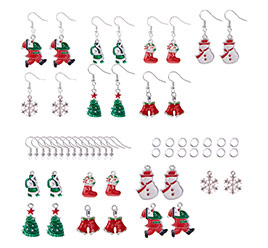 Christmas Dangle Earrings Making Kit