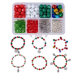 Christmas Bracelet Making Kit