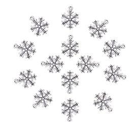 Snowflake Tibetan Style Pendants