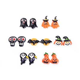 Halloween Theme Resin Cabochons
