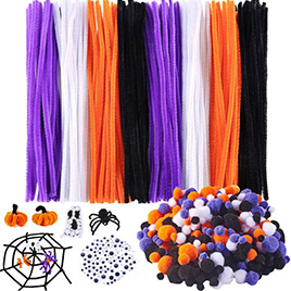 Halloween Pipe Cleaners Sets