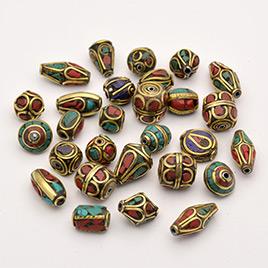 Handmade Tibetan Style Beads