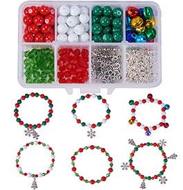 Christmas Bracelet Making Kit