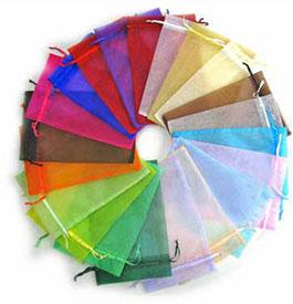 6 Colors Organza Bags