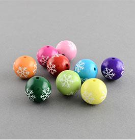 Snowflake Pattern Beads